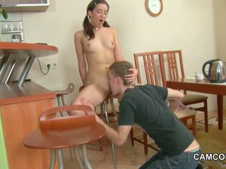Step-brother Seduce Sinny NOT Step-sister to her first Fuck