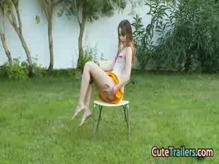Masturbation og fingring i den grass