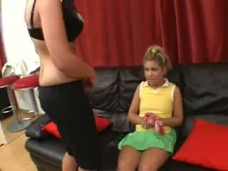 Franchezca and Aubrey - Pussy Licking Cheerleader