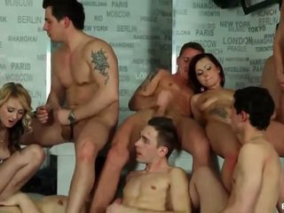fucking, bisexual, orgy