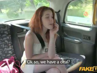 gadis berambut merah, taksi, amatir