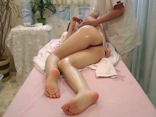 Fata pacalit în timpul sănătate masaj