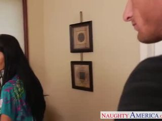 Lustful mom in pantyhose Ava Addams fucking