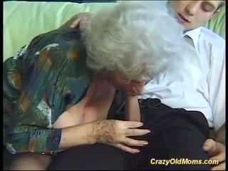 Gjoksmadhe e çmendur i vjetër mami needs vetëm i freskët i fortë cocks