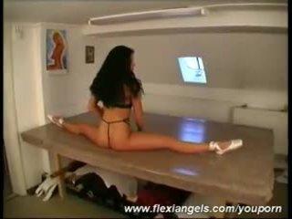 Çeýe samantha stripping at flexiangels