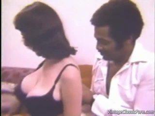 великі-груди, межрасовий секс, vintage porn
