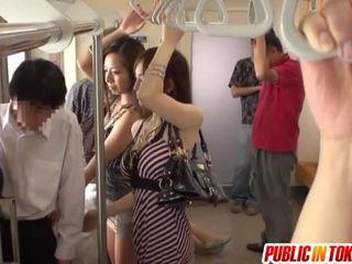 Smut ταϊλανδός/ή δημόσιο σεξ involving πάρτι