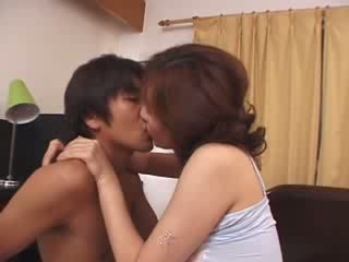 Japanese Stepmom Abused By Horny Husbands Son Video