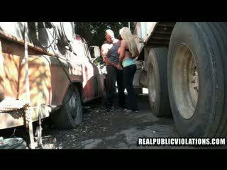 Truck रोक फक्किंग violations