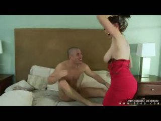 Breasty горещ мадама gianna michaels whacking тя throat дълбоко с а thick хуй