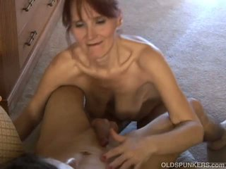 Skinny Old Spunker Loves to Suck Cock and Eat Cum: Porn 37