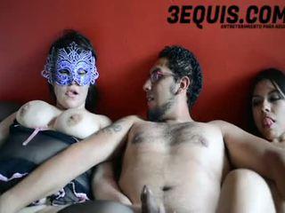 porno suuri, mexicana, lisää trio kiva