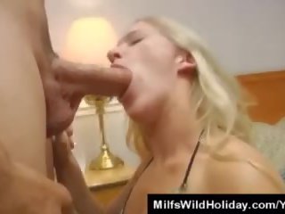 Milf Zia Finds a Man