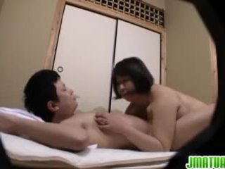 Japonesa madura loves a llegar ella duro camino