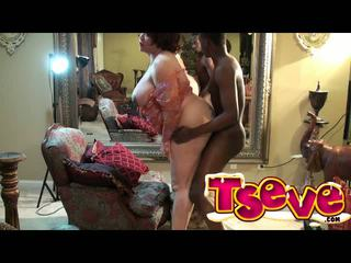 Black Hollywood Drilling Ts Eve Ass