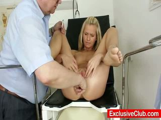 Hawt Small Teen Bella Anne Open Twat Exam