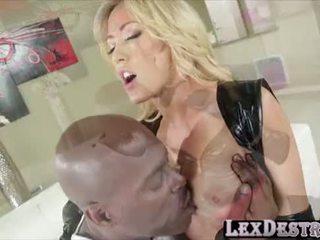 Blondie big tits Capri Cavanni gets destroyed by Lexington Steele