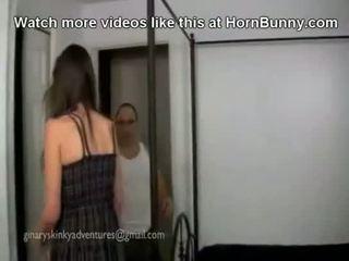 父亲 和 女儿 有 使 向上 性别 - hornbunny. com