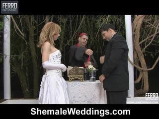Mescolare di alessandra, angelo, senna da shemale weddings