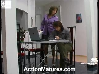 Helena And Danil Astonishing Mature Action