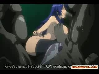 Sidumine hentai bigboobed groupfucked poolt getto monsters anime
