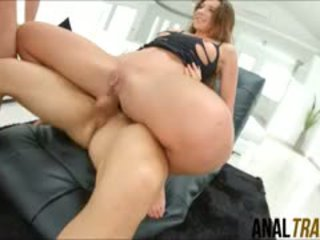 Belgian Beauty Julie Skyhigh Gets A Nasty Double Penetration