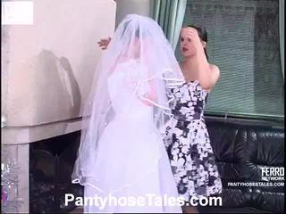 menyasszony, videók, leszbikus szex