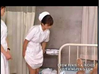 اليابانية طالب nurses تدريب و ممارسة part1