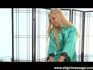 Aaliyah dashuria lezbike masazh