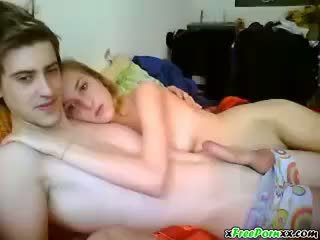 Webkamera - knull min blondin flickvän
