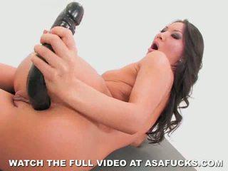 Asa akira goes anális -val egy nagy fekete műfasz
