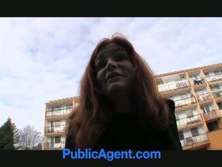 Comel si rambut merah anals untuk wang!