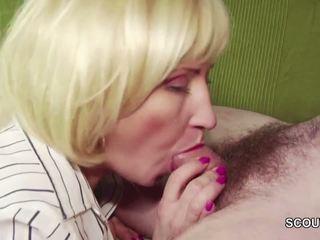 18yr stary niemieckie chłopak kuszenie step-mom masturbation i pieprzyć