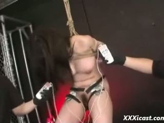 Tied Asian Teen Made To Orgasm