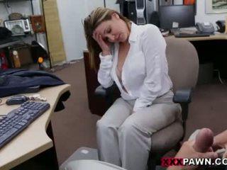 chupar, fellation, escritório
