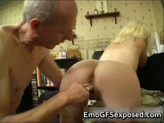 Staré papy jebanie mladý tattooed manželka