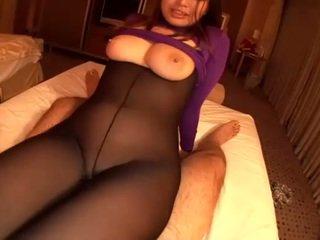 Flugbegleiterin gets heiß sperma unter sie sexy unterwäsche