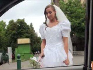 Gorące panna młoda fucks później failed ślub