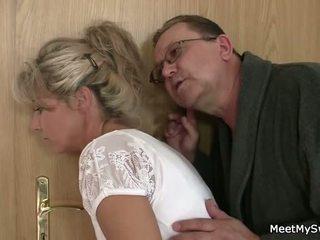 On leaves i stary parents seduces jego yummy gf