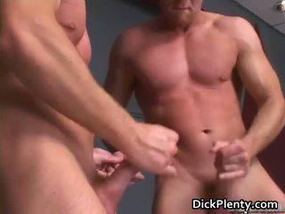 Amazing gay scene with awesome orgy