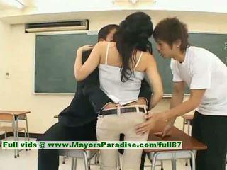 Sora aoi innocent sexy japonez student este getting inpulit