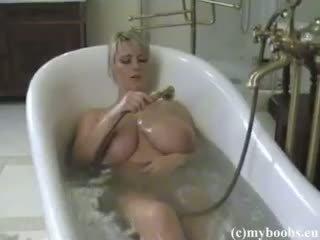 big boobs, blonde, amateur