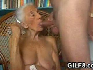 big boobs, močiutė, blowjob