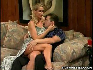 Veľký sýkorka blondýna seduction