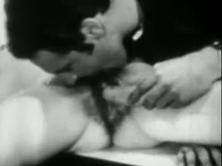 Lust en de banaan: gratis vintage porno video- ea