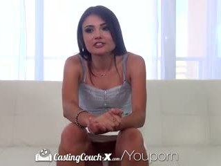 Castingcouch-x - kyut smiley aspen reign wants upang get fucked sa camera