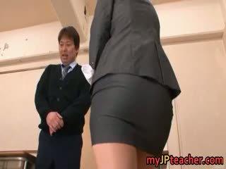 Kokomi sakura vacker asiatiskapojke baben gets part6
