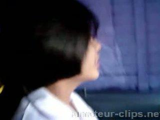 দুধাল মহিলা থাই বালিকা getting প্রস্তুত থেকে থাকা হার্ডকোর