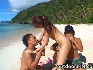 Asami ogawa アジアの playgirl receives bang