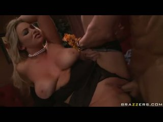 Adorable Breasty Babe Abbey Brooks Receives Banged Deep On Her Twat By A Meaty Shaft